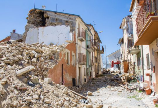 Terremoto: approvato il programma delle opere pubbliche