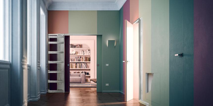 Controtelai Eclisse: versatilità e qualità per le pareti in cartongesso