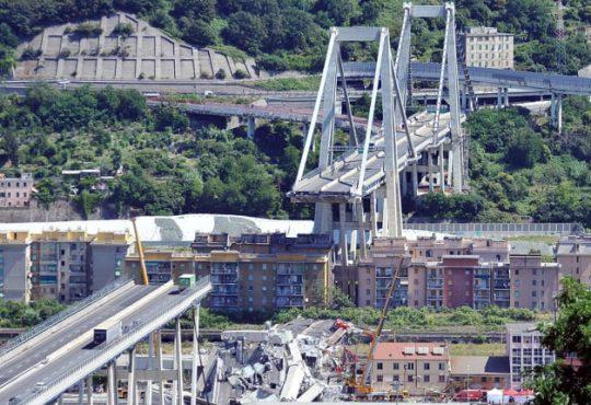 Crollo Ponte Morandi: gli ingegneri scrivono al Premier Conte