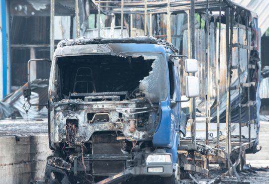 Poliba -T-fire- dispositivo antincendio per i mezzi pesanti