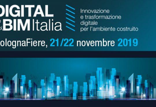 DIGITAL&BIM Italia 2019: digitalizzazione e innovazione