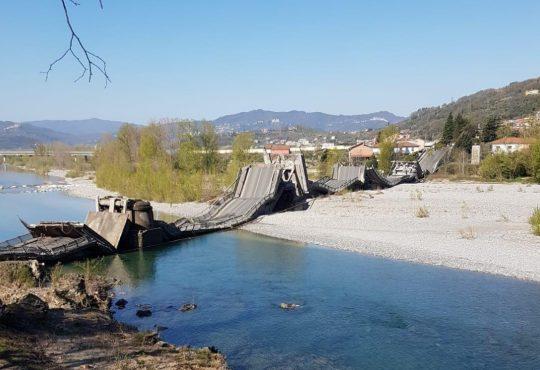 Crollo Fiume Magra – mettere subito in sicurezza l'Italia