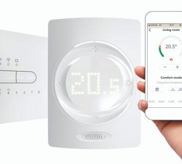 Wavin Italia presenta il nuovo sistema di controllo Sentio!