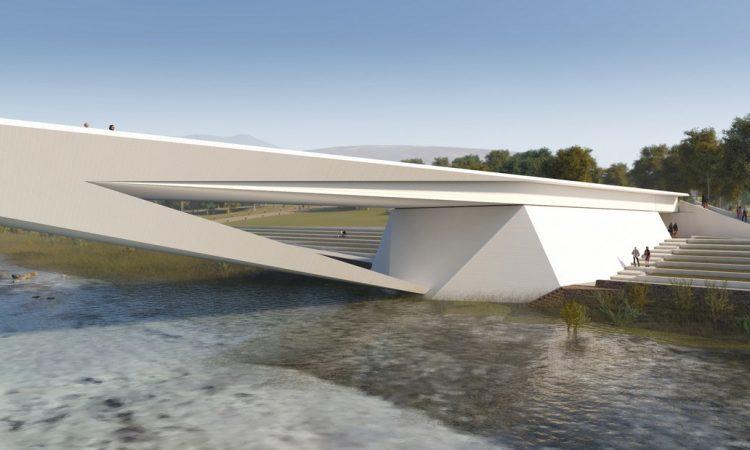 Nuovo Ponte sul Fiume Piave: uno skiline dal forte accento spagnolo